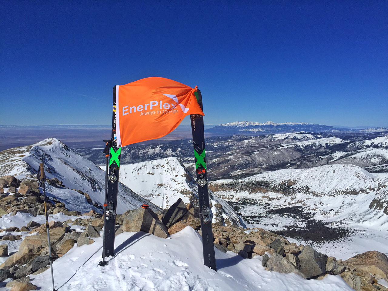 Peak #8: Culebra Peak 14,047' - February 12, 2016