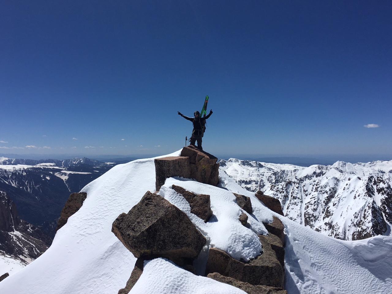 Me on the summit of Windom.