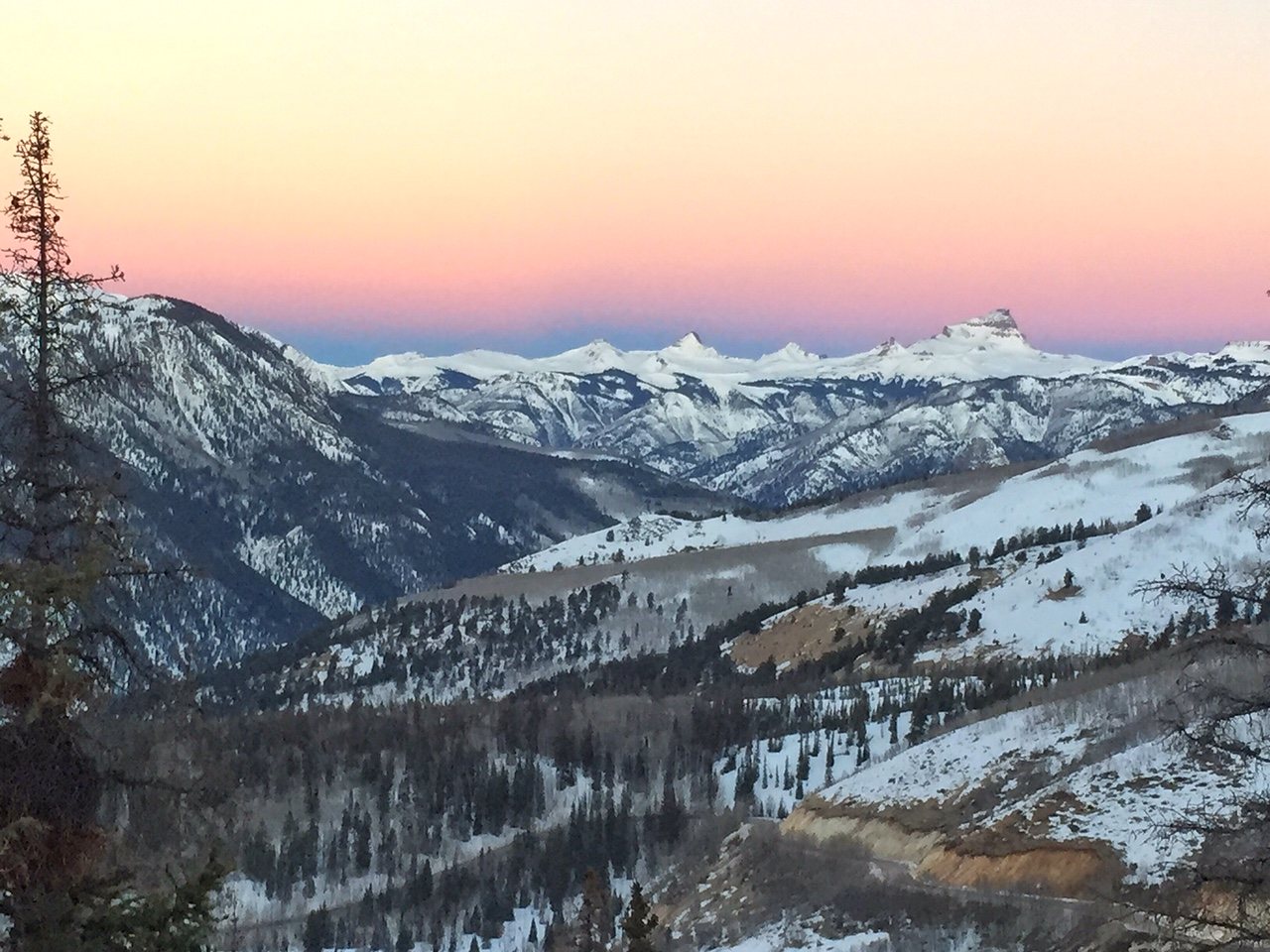 Wetterhorn and Uncompahgre in the distance….a great adventure!