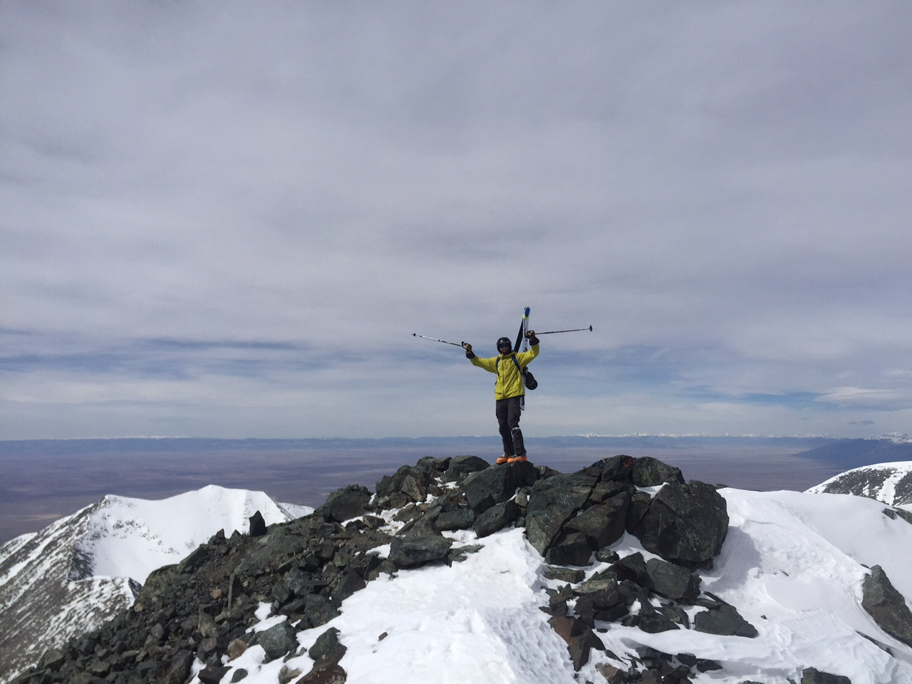 Summit of Blanca, 14,345'