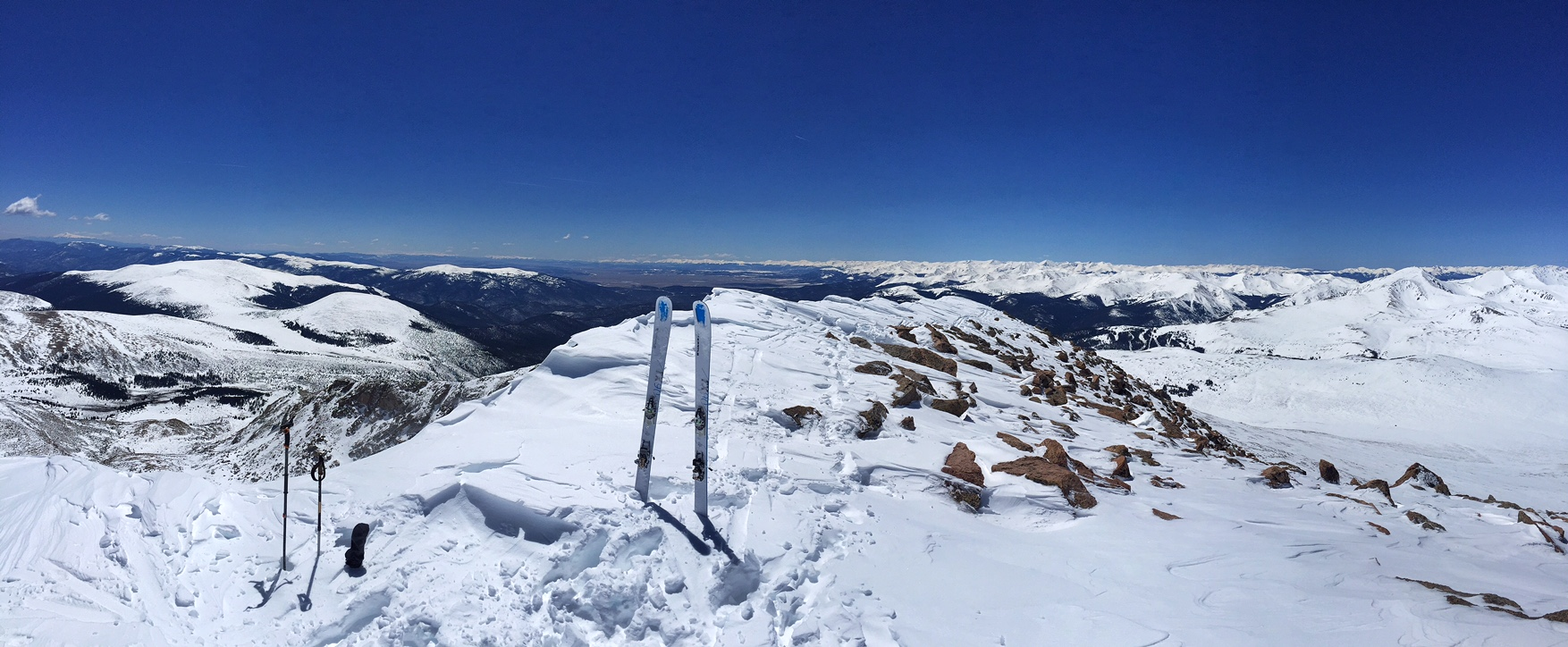 Looking west from Bierstadt's summit…what a flawless day!
