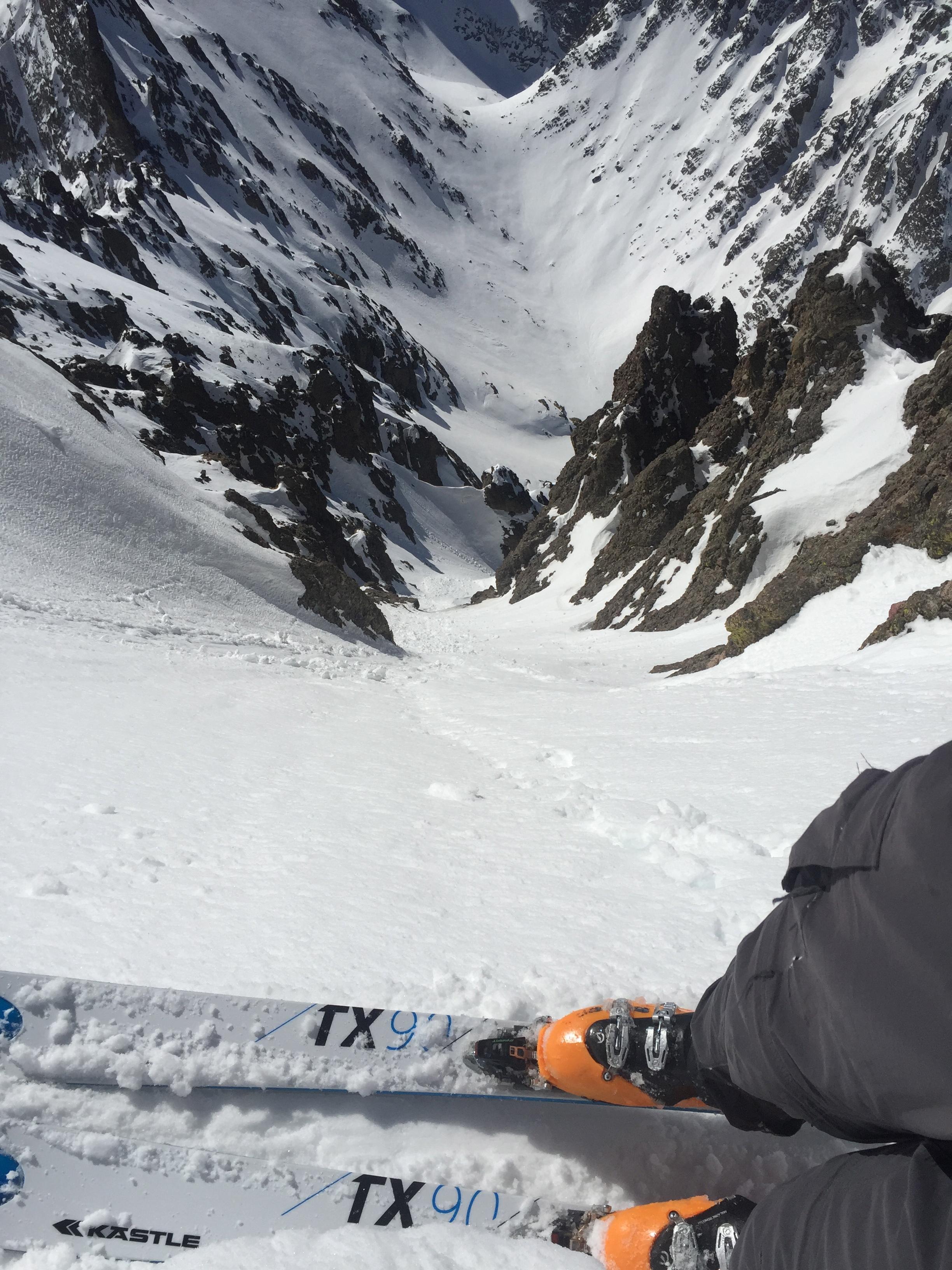 Needle skiing Perspective.